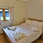 Melbury Chalet Double Bedroom
