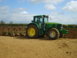Matt Ploughing 25th Apr 10