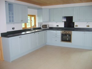 Kitchen in Duncliffe Chalet